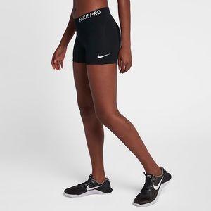 Nike pro bike short size large *never worn